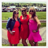 Photo taken at Foxfield Races by Emily A. on 4/27/2013
