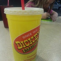 Photo taken at Dickey's Barbecue Pit by Nick K. on 10/24/2013