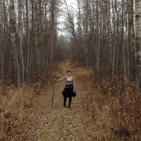 Photo taken at Elk Island National Park by HebZ 🎈 on 10/19/2014
