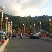 Photo taken at Jembatan Siti Nurbaya by Supriadi on 2/3/2013