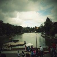 Photo taken at Parque de Los Lagos by Evarista T. on 9/29/2012