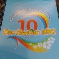 Photo taken at Ono Hawaiian BBQ by Hiilani A. on 11/24/2012