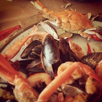 Photo taken at May's Crab & Seafood by Jazmin H. on 6/23/2013