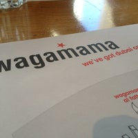 Photo taken at Wagamama by Chicco H. on 1/24/2013