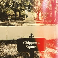 Photo taken at Forrest Gump's Bench (former location) by Ryan R. on 2/18/2013
