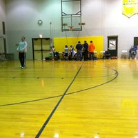 Photo taken at Middle School Gym by Timothy C. on 2/3/2013