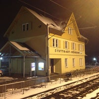 Photo taken at U Möhringen Bahnhof by Dina4 w. on 2/27/2013