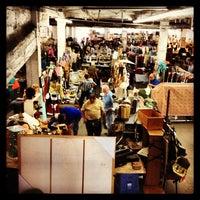 Photo taken at The Garage Antique Flea Market by Caestus on 6/16/2013