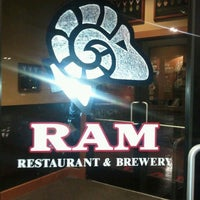 Photo taken at RAM Restaurant & Brewery by Traina T. on 1/25/2013