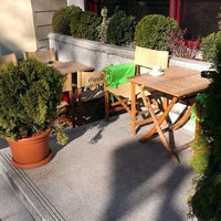 Photo taken at Marica Café-Bar & Restaurant by Balázs K. on 3/11/2014