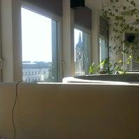 Photo taken at Marica Café-Bar & Restaurant by Balázs K. on 1/31/2013