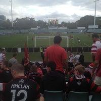 Photo taken at Pirtek Stadium by stacie 🙊 on 12/21/2012