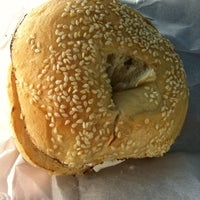 Photo taken at Uncle Harry's New York Bagelry by Veronica H. on 1/17/2013