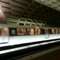 Photo taken at Metro Center Metro Station by K C. on 3/31/2013