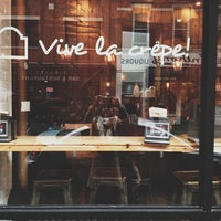 Photo taken at Vive La Crêpe by Samantha O. on 2/24/2013