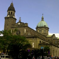 Photo taken at Cathedral-Basilica of the Immaculate Conception of Manila (Manila Cathedral) by Joseph Allan A. on 3/28/2013