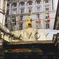 Photo taken at Savoy Place by Kai S. on 10/27/2015