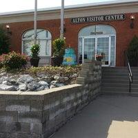 Photo taken at Alton Visitors Center & Regional CVB by Matt M. on 5/17/2014