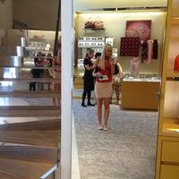 Photo taken at Louis Vuitton by Carolina S. on 7/2/2013