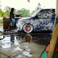 Photo taken at Azeez Car Wash by Syukri B. on 5/11/2013