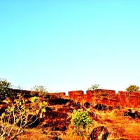 Photo taken at Chapora Fort by Rohan S. on 1/22/2013