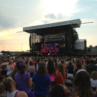 Photo taken at The Star Pavilion at Hersheypark Stadium by Evangelia L. on 7/19/2013