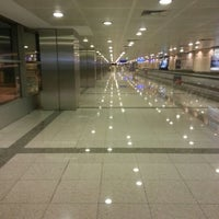 Photo taken at International Terminal Arrival by Onr Kaan K. on 10/11/2012