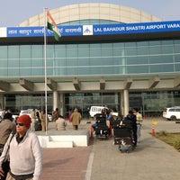 Photo taken at Lal Bahadur Shastri International Airport, Varanasi (VNS) by John L. on 1/6/2013