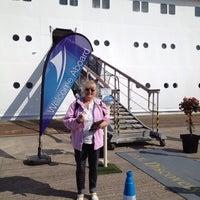 Photo taken at Avonmouth Docks by Jo C. on 9/21/2014