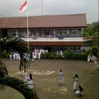 Photo taken at SMPN 13 Jakarta by hanif m. on 11/26/2012