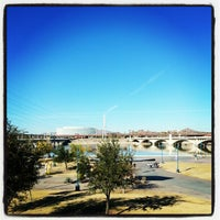 Photo taken at Tempe Veterans Memorial by Trevor F. on 1/20/2013