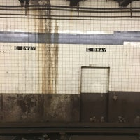 Photo taken at MTA Subway - East Broadway (F) by Frances B. on 4/21/2016