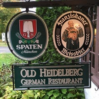 Photo taken at Old Heidelberg German Restaurant by Jason K. on 10/9/2016