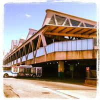 Photo taken at George Washington Bridge Bus Station by Chase W. on 4/3/2013