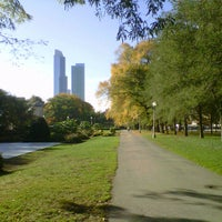 Photo taken at Grant Park by Alfonso S. on 10/6/2012