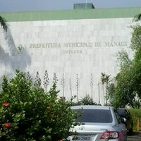 Photo taken at Prefeitura Municipal de Manaus by Greicy D. on 10/8/2012