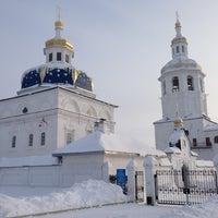 Photo taken at Свято-Знаменский Абалакский монастырь by Дмитрий Ш. on 1/21/2013