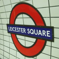 Photo taken at Leicester Square by Andrew on 6/1/2013