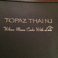 Photo taken at Topaz Thai Restaurant by Merrisa M. on 8/12/2014