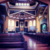 Photo taken at National Shrine of Our Lady of the Holy Rosary of La Naval de Manila (Sto. Domingo Church) by Lanier L. on 6/18/2013