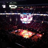 Photo taken at Moda Center at The Rose Quarter by Meng L. on 11/17/2012