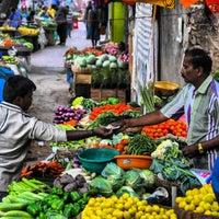 Photo taken at Gandhi Bazaar by Spiros V. on 4/1/2013