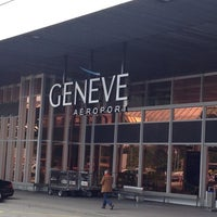 Photo taken at Geneva Cointrin International Airport (GVA) by GOLD!E on 5/23/2013