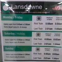 Photo taken at Lansdowne Subway Station by Marco R. on 11/21/2012