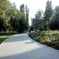 Photo taken at Парк Гагарина by Vitaliy B. on 7/25/2013