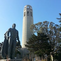 Photo taken at Coit Tower by Rob on 5/30/2013