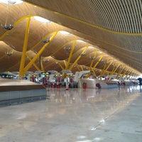 Photo taken at Adolfo Suárez Madrid-Barajas Airport (MAD) by Savaş K. on 8/21/2013