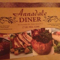 Photo taken at Annadale Diner by Brad S. on 10/19/2013