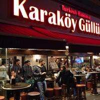 Photo taken at Karaköy Güllüoğlu by Khalid A. on 10/16/2013