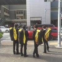Photo taken at 日吉駅前 交差点 by S.Kajimoto on 11/21/2015